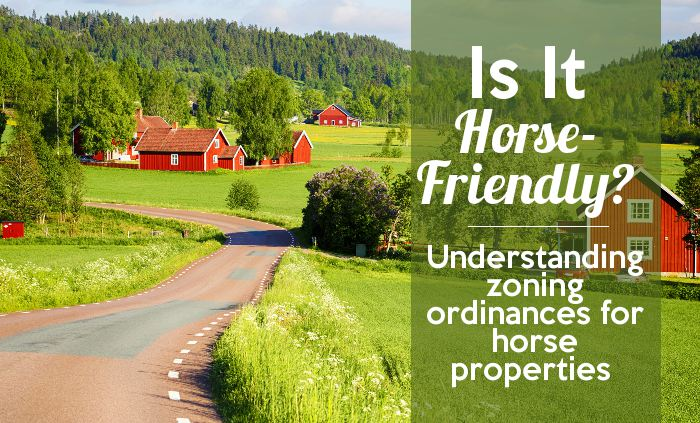 understanding zoning ordinances for horse properties